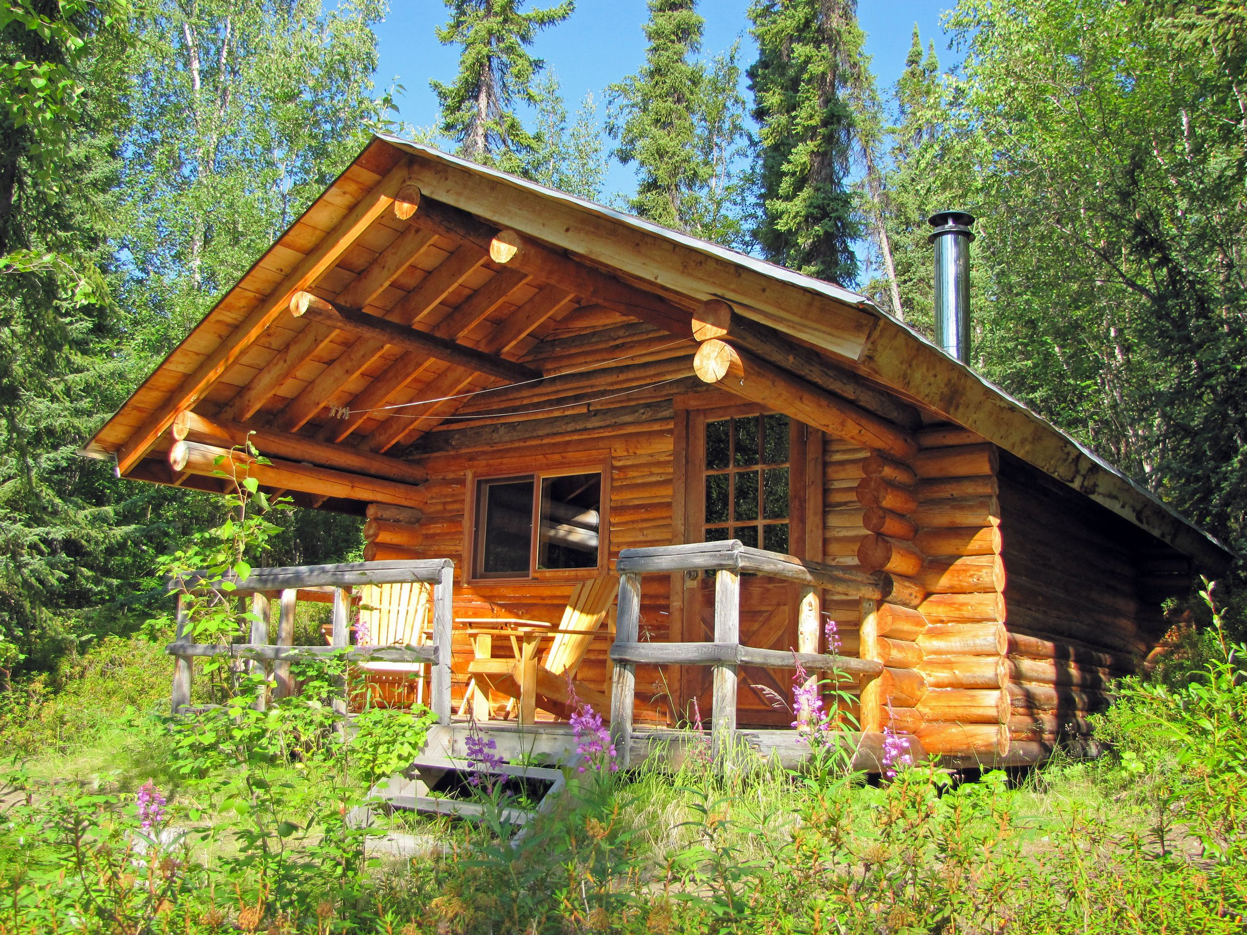 erdrot-travel, Yukon, Frances Lake Wilderness Lodge - Cabin