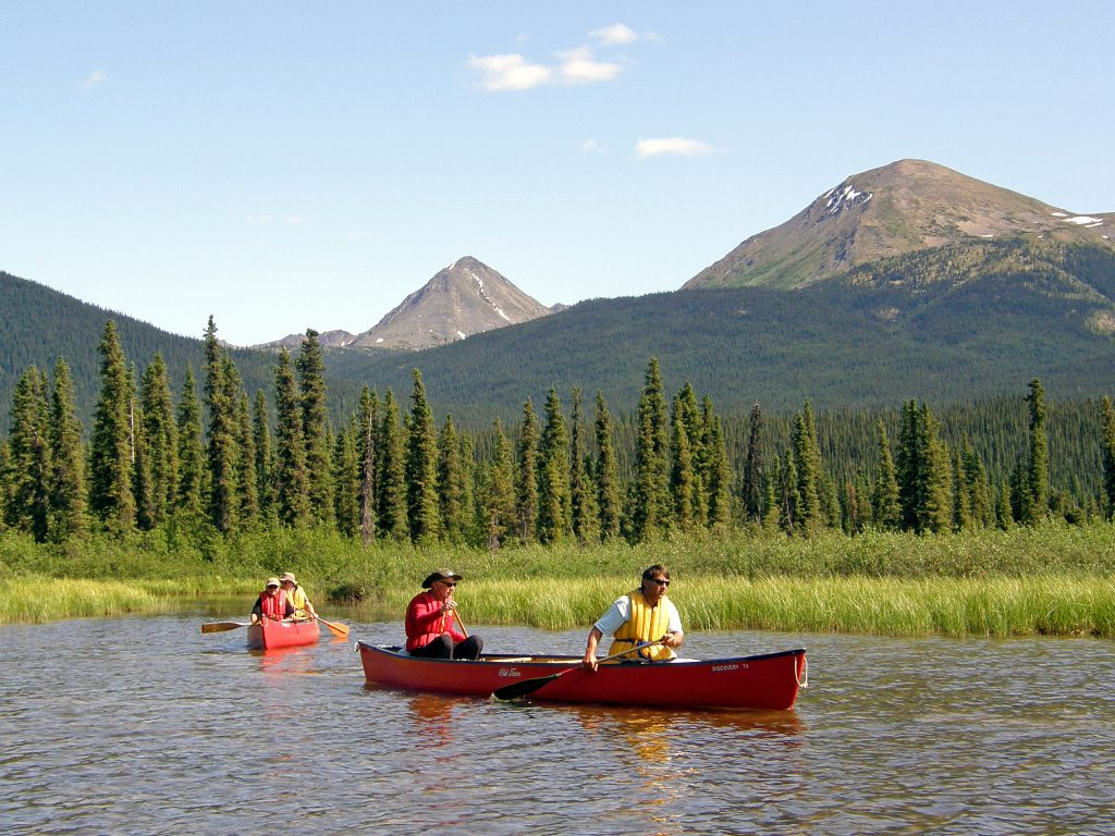 erdrot-travel, Yukon, Frances Lake Wilderness lodge, , Kanufahrt